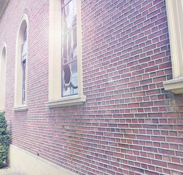 Fassade der Herz-Jesu Kapelle