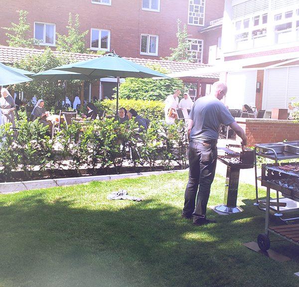 Sommerfest im Klostergarten