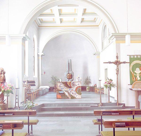 Innenraum Herz-Jesu Kirche