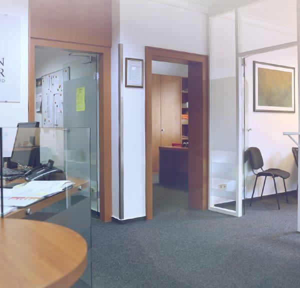 Eingangsbereich ambulante Pflege